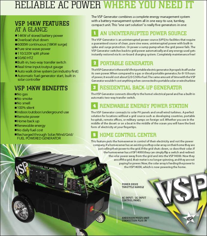 vsp-solar-portable-generator